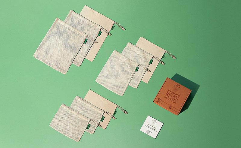 premium reusable produce bags