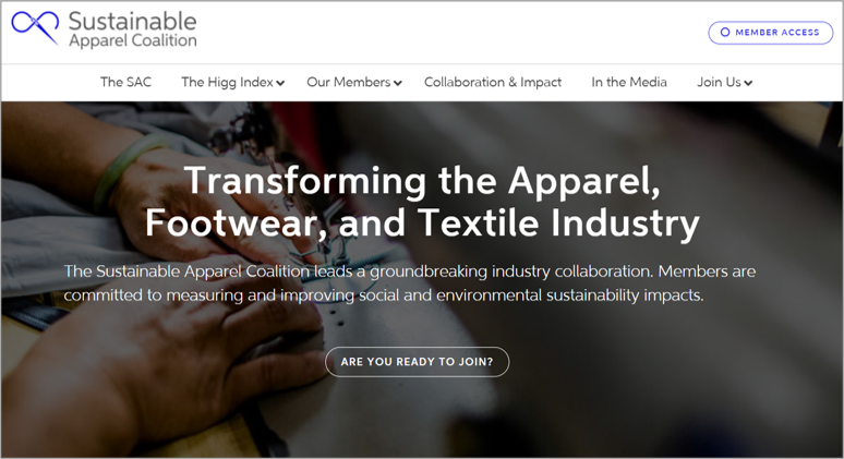 sustainable apparel coalition