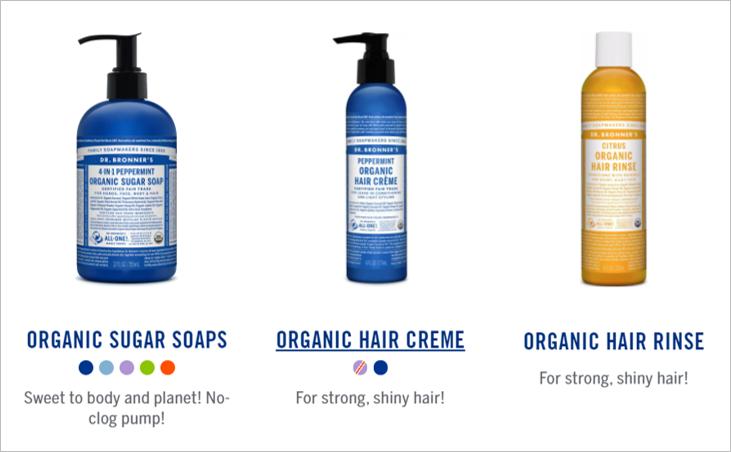 bronners shampoo