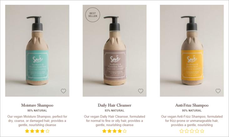 seed shampoo