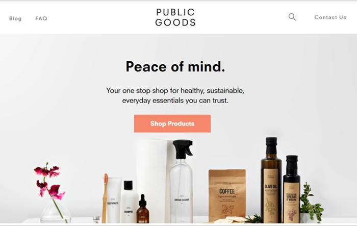 Ethical Supermarkets - Public Goods