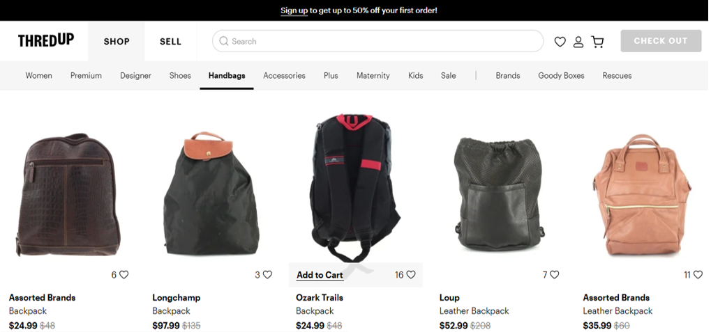thred up eco friendly backpacks2