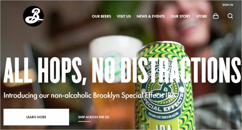 brooklyn brewery eco friendly beer