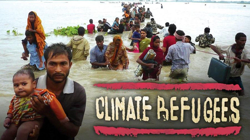 climate refugees