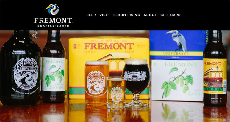 fremont eco friendly beer
