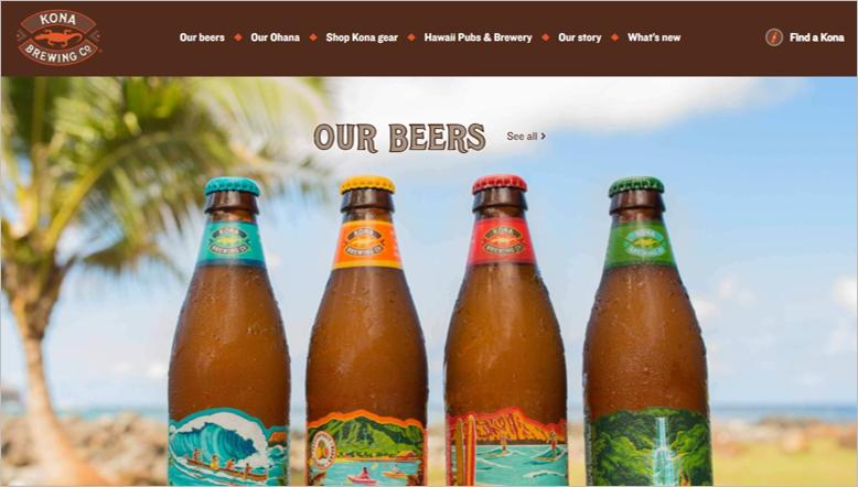 kona eco friendly beer