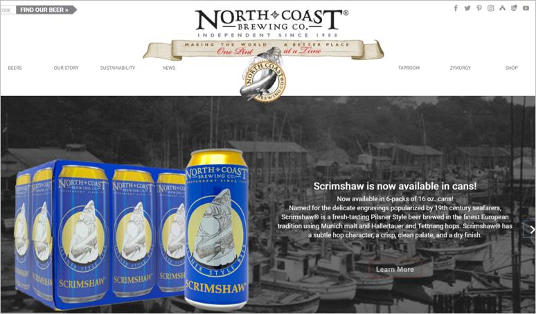 north coast eco friendly beer