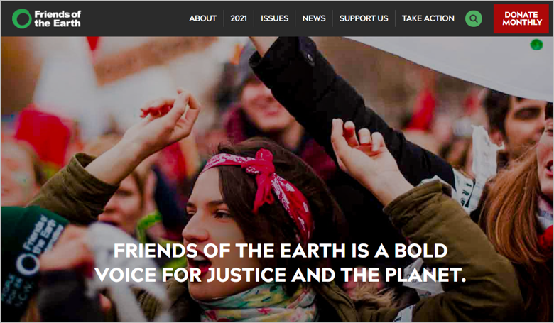 best environmental charities friends of the earth
