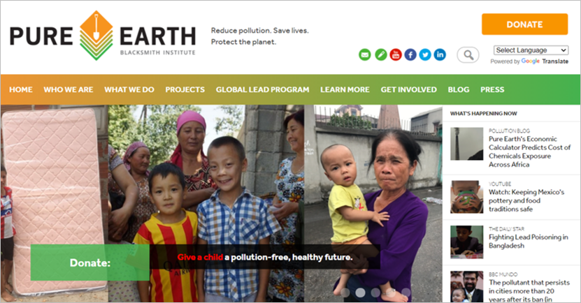best environmental charities pure earth