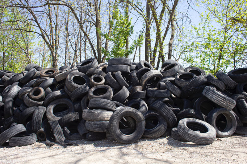 hard to recycle tires