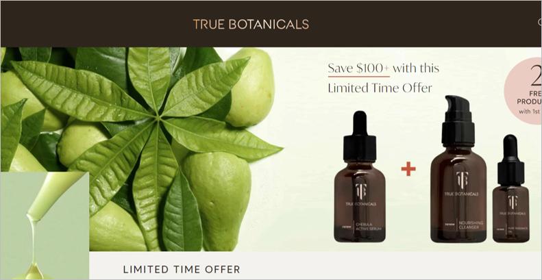 true botanicals natural skincare