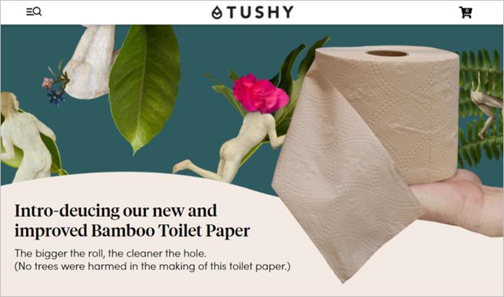 tushy sustainable toilet paper