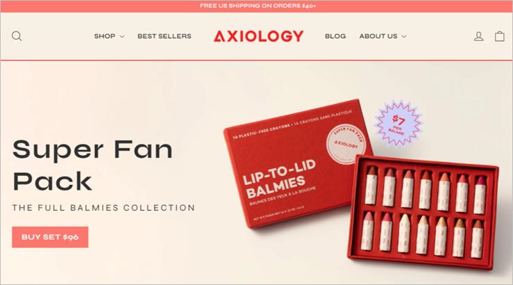 axiology zero waste makeup