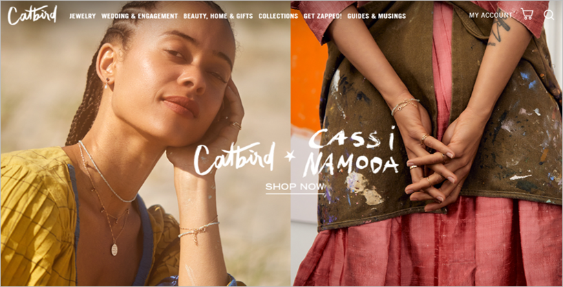 catbird sustainable engagement rings