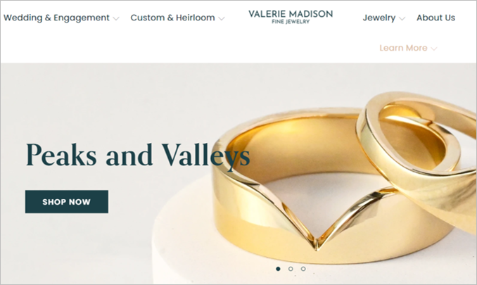 valerie madison sustainable engagement rings