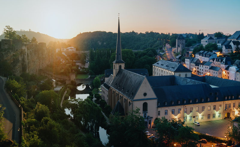 environmentally friendly countries luxembourg