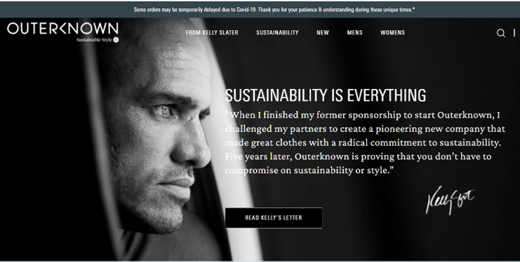 outerknown sustainable swimwear