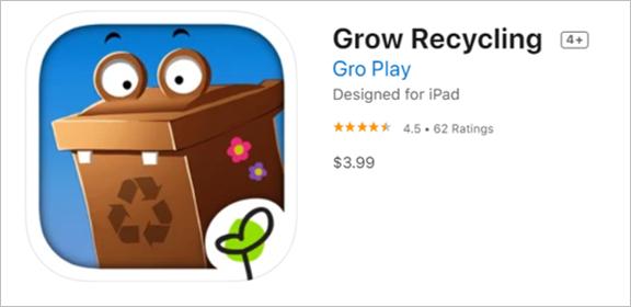 grow recycling app