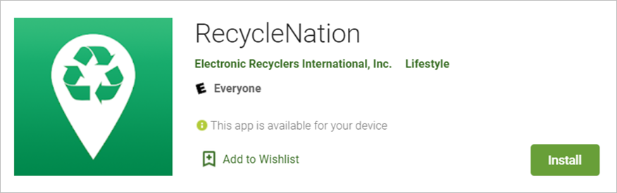 recycle nation app