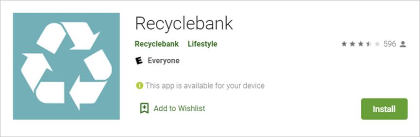 recyclebank app
