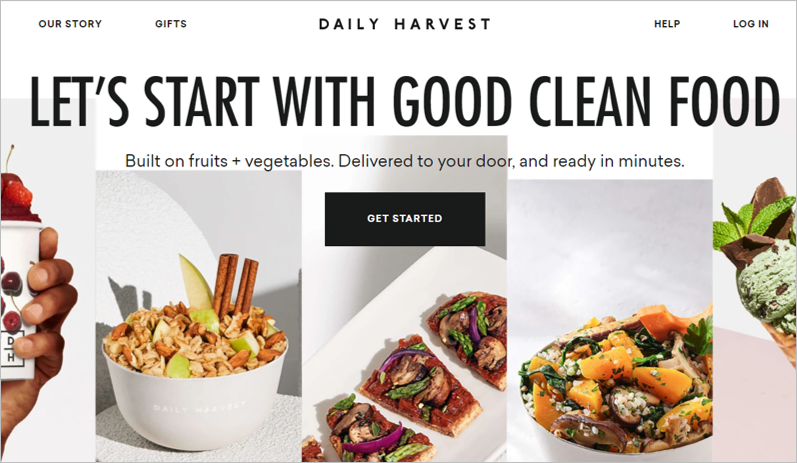 daily harvest environmentally friendly meal delivery